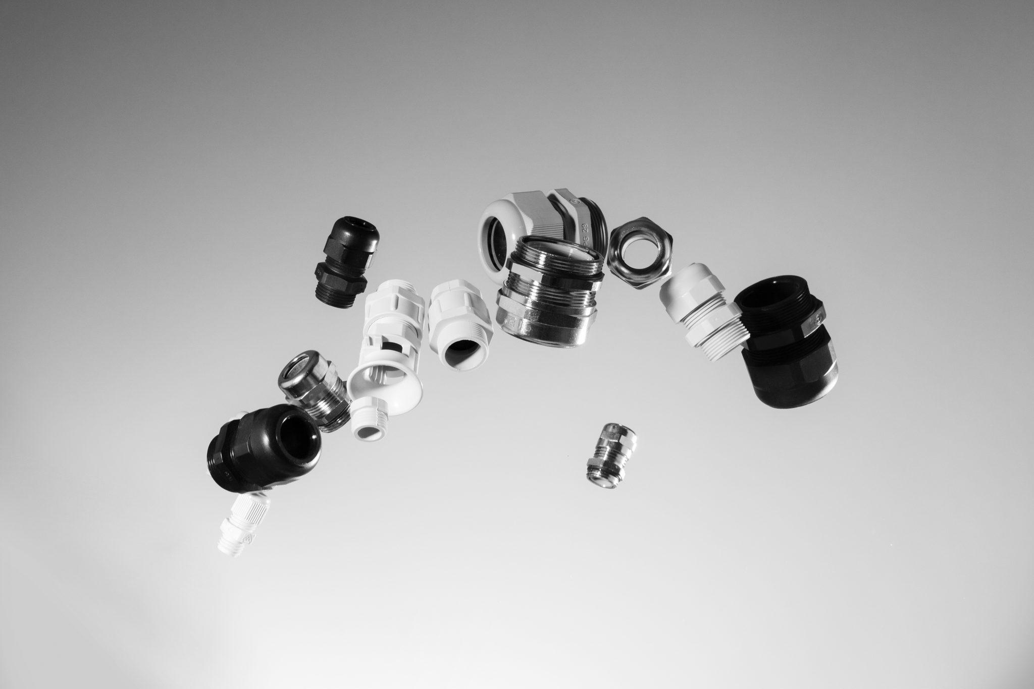 EMV Kabelverschraubungen mit metrischem und PG- Gewinde